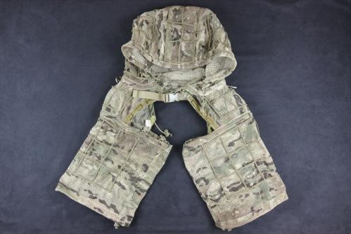 A-TWO Half Ghillie Mesh type Multicam