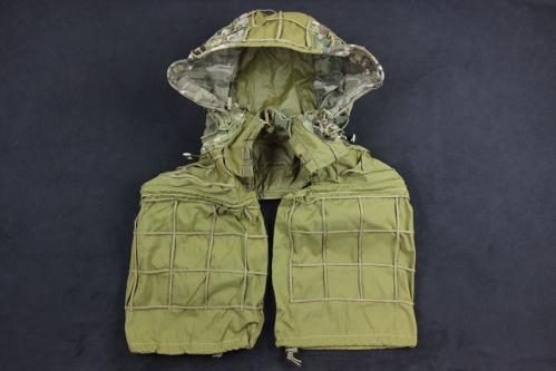 A-TWO Half Ghillie Suit Nylon type Khaki