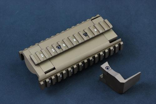 TACTICAL RAIL FDE for G&G FN F2000