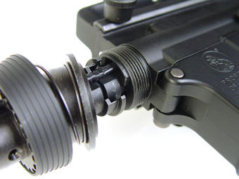 HARD BARREL BASE for Next Gen M4 AEG LAYLAX